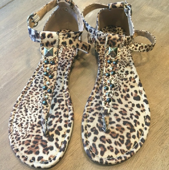 Mossimo Supply Co. Shoes - Women's leopard print sandals